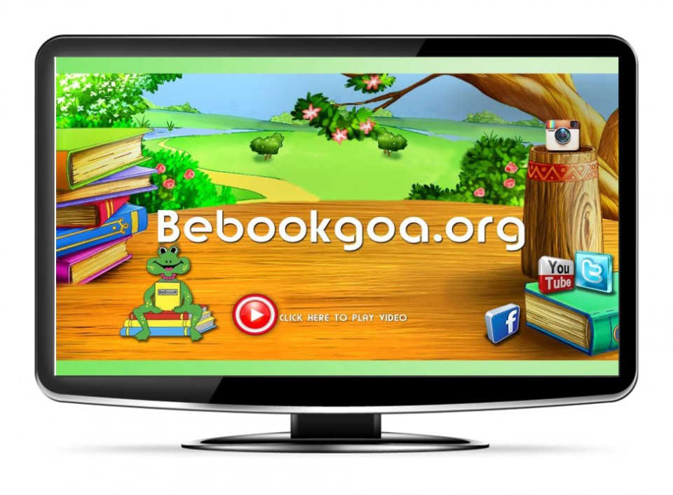 BEBOOKGOA.ORG: A Voluntary Organisation dedicated to bringing books and the habit of reading to underpriviledged children in the villages of Goa. They do this via Outreach programs in municipal schools and a Mobile Library.