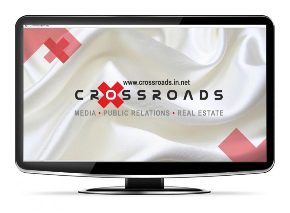 CROSSROADS.IN.NET: A multi-media website for an Ad agency
