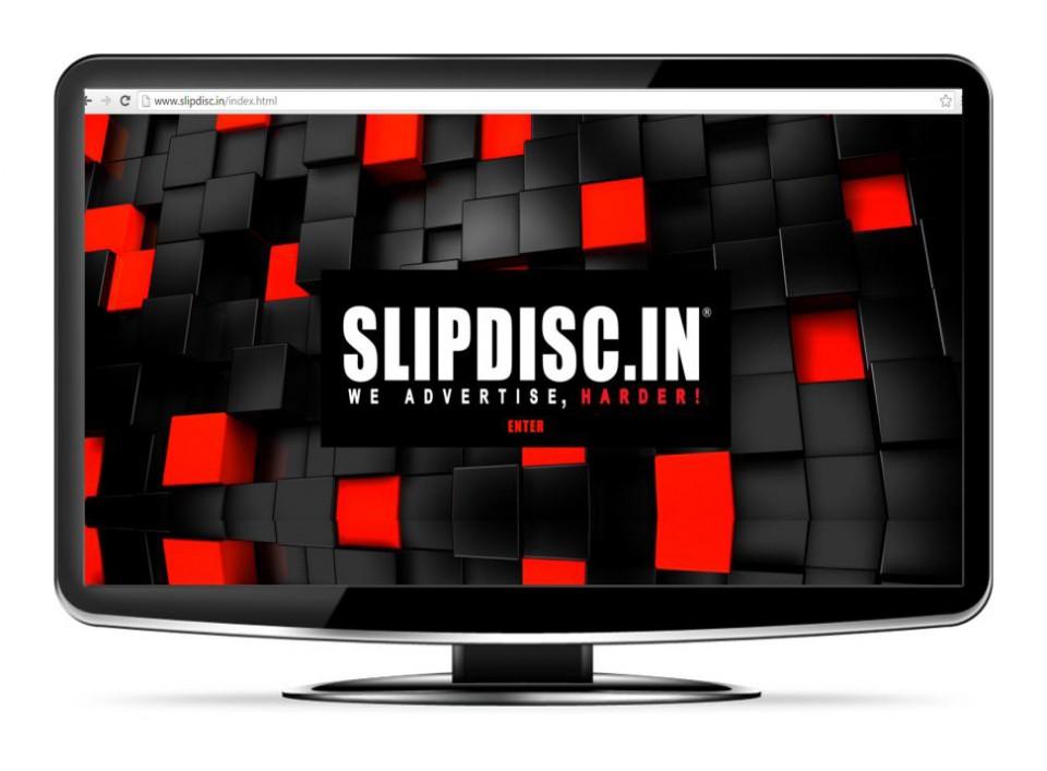 SLIPDISC: A multi-media website for an Ad agency